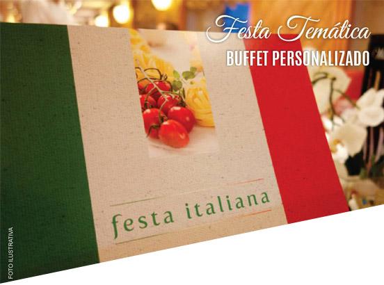 Festa Italiana Cláudio e Consolinha Buffet